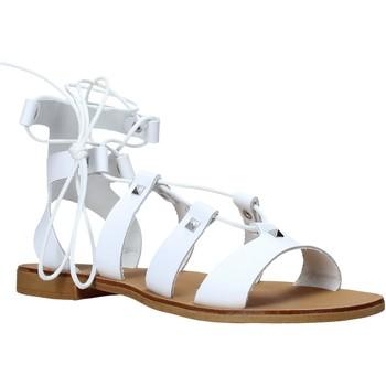 Boty Ženy Sandály Keys K-4880 Bílý