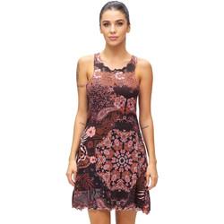 Textil Ženy Krátké šaty F * * K  Hnědý