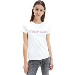 Textil Ženy Trička s krátkým rukávem Calvin Klein Jeans K20K201852 Bílý