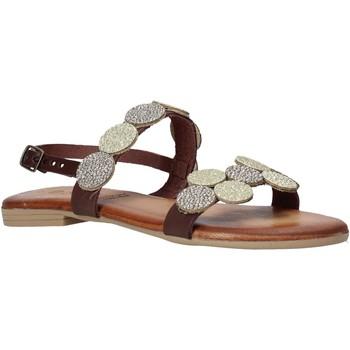 Boty Ženy Sandály Dorea MH114 Hnědý