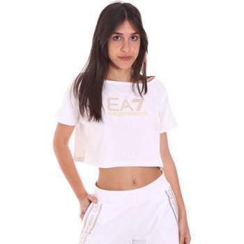 Textil Ženy Trička s krátkým rukávem Ea7 Emporio Armani 3KTT03 TJ28Z Bílý