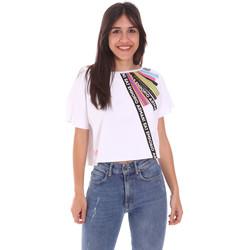 Textil Ženy Trička s krátkým rukávem Ea7 Emporio Armani 3KTT40 TJ39Z Bílý
