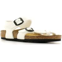 Boty Děti Sandály Birkenstock 310063 Bílý