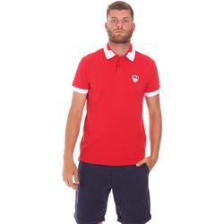 Textil Muži Polo s krátkými rukávy Ea7 Emporio Armani 3KPF07 PJ04Z Červené