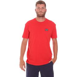 Textil Muži Trička s krátkým rukávem Ea7 Emporio Armani 3KPT63 PJ6EZ Červené