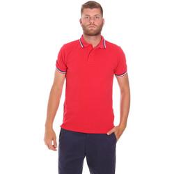 Textil Muži Polo s krátkými rukávy Sundek M779PLJ6500 Červené