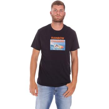 Textil Muži Trička s krátkým rukávem Sundek M047TEJ7800 Černá