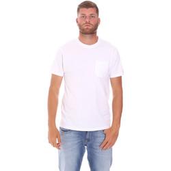 Textil Muži Trička s krátkým rukávem Sundek M050TEJ9300 Bílý
