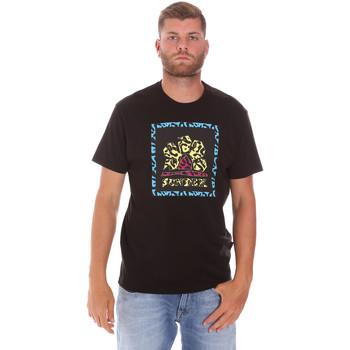 Textil Muži Trička s krátkým rukávem Sundek M021TEJ78FL Černá