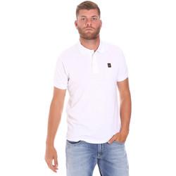 Textil Muži Polo s krátkými rukávy Refrigiwear RM0T25900PQ9002 Bílý