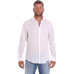 Textil Muži Košile s dlouhymi rukávy Calvin Klein Jeans K10K107232 Bílý