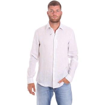Textil Muži Košile s dlouhymi rukávy Calvin Klein Jeans K10K107239 Bílý