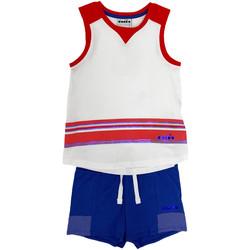 Textil Děti Set Diadora 102175915 Bílý