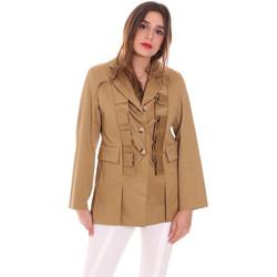 Textil Ženy Saka / Blejzry Dixie J212P011 Zelený