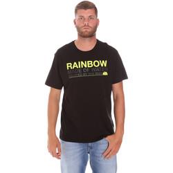 Textil Muži Trička s krátkým rukávem Sundek M058TEJ7800 Černá