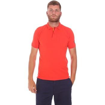 Textil Muži Polo s krátkými rukávy Sundek M791PLJ6500 Červené