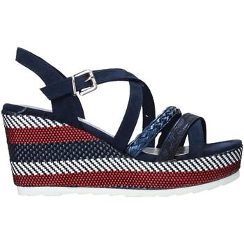 Boty Ženy Sandály Marco Tozzi 2-2-28375-26 Modrý