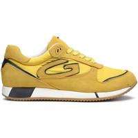 Boty Muži Módní tenisky Alberto Guardiani AGM003513 Žlutá