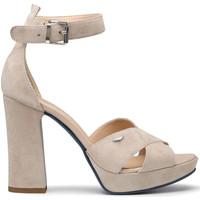 Boty Ženy Sandály Alberto Guardiani AGW002700 Béžový