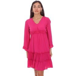 Textil Ženy Krátké šaty Fracomina FR21SD1047W41801 Růžový