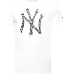 Textil Muži Trička s krátkým rukávem New-Era 12369838 Bílý