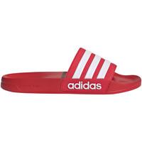 Boty Muži pantofle adidas Originals FY7815 Červené