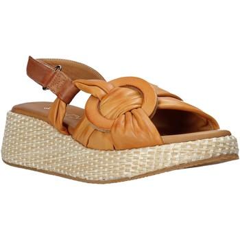 Boty Ženy Sandály Sshady L2406 Hnědý