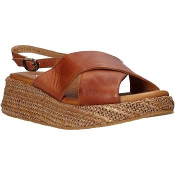 Boty Ženy Sandály Sshady L2410 Hnědý