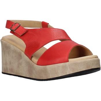 Boty Ženy Sandály Sshady L2502 Červené