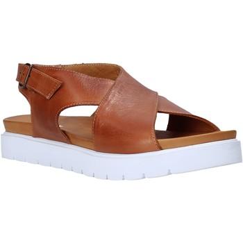 Boty Ženy Sandály Sshady L2301 Hnědý