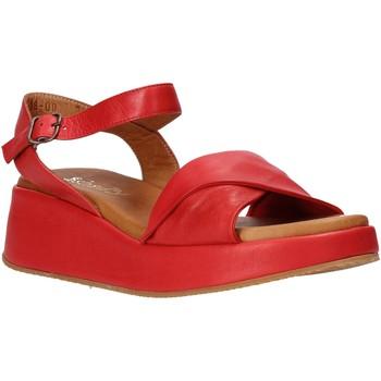 Boty Ženy Sandály Sshady L2402 Červené