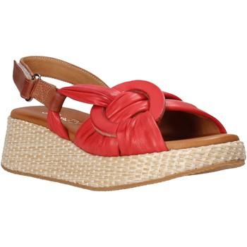 Boty Ženy Sandály Sshady L2406 Červené