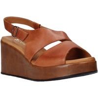 Boty Ženy Sandály Sshady L2502 Hnědý