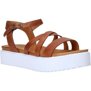 Boty Ženy Sandály Sshady L2304 Hnědý