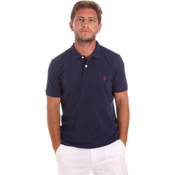 Textil Muži Polo s krátkými rukávy U.S Polo Assn. 51007 49785 Modrý