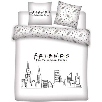 Bydlení Děti povlečení Friends 63788 Blanco