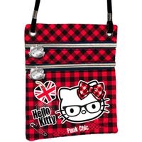 Taška Ženy Kabelky s dlouhým popruhem Hello Kitty 41563 Rojo