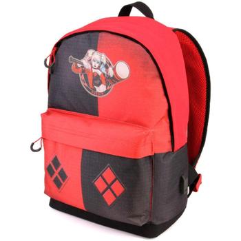 Taška Děti Batohy Harley Quinn 39422 Rojo