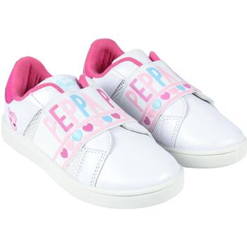 Boty Dívčí Nízké tenisky Peppa Pig 2300004407 Blanco
