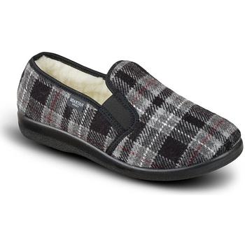 Boty Muži Papuče Mjartan Pánske papuče  ALEXEJ tmavosivá
