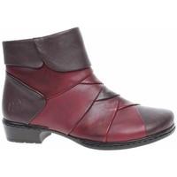 Boty Ženy Kotníkové boty Rieker 7229125 Červené, Hnědé