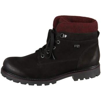 Boty Ženy Kotníkové boty Remonte Dorndorf D747604 Černé, Vínově červené