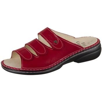 Boty Ženy Dřeváky Finn Comfort Kos Červené, Vínově červené