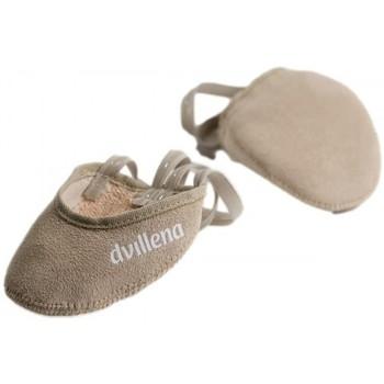 Boty Ženy Sálová obuv Dvillena PUNTERA GIMNASIA RITMICA AFRICA Béžová
