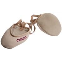 Boty Ženy Sálová obuv Dvillena PUNTERAS GIMNASIA RITMICA ELEGANTE Béžová