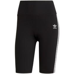 Textil Ženy Tříčtvrteční kalhoty adidas Originals Szorty High Waisted Shorts Tights Primeblue Černé