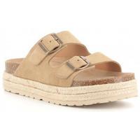 Boty Dívčí Dřeváky Obi Shoes 3052 Beige