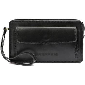 Taška Muži Malé kabelky Gregorio Černá kožená pánská dokladová taška / etue  2123 černá