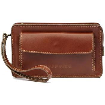 Taška Muži Malé kabelky Gregorio Hnědá kožená pánská dokladová taška / etue  2123 hnědá