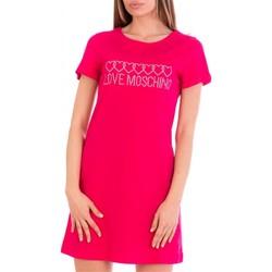 Textil Ženy Krátké šaty Love Moschino W592915M3876 Růžová
